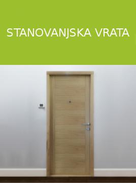 Stanovanjska vrata robnik