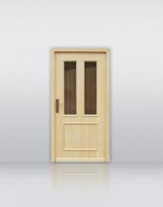 Vhodna vrata Klas mesing