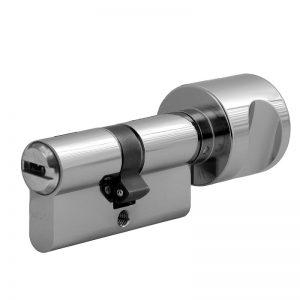 Varnostni cilindrični vložek r6 z gumbom