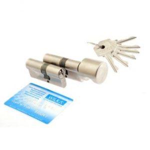 Varnostni cilindrični vložek r6 z kartico